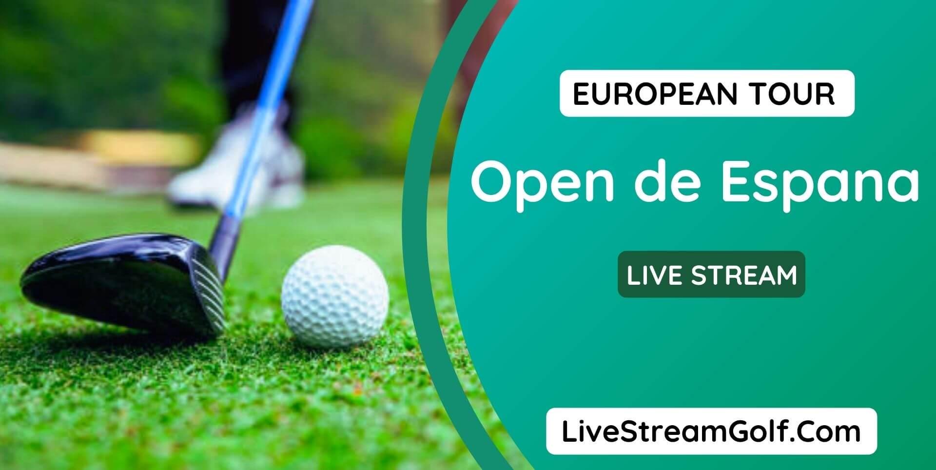 Open de Espana Live Stream
