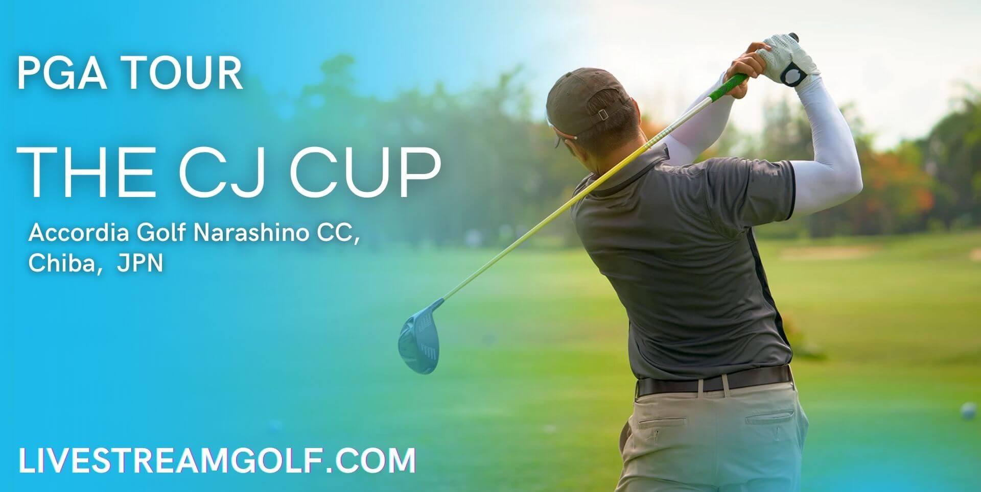 The CJ Cup Live Stream
