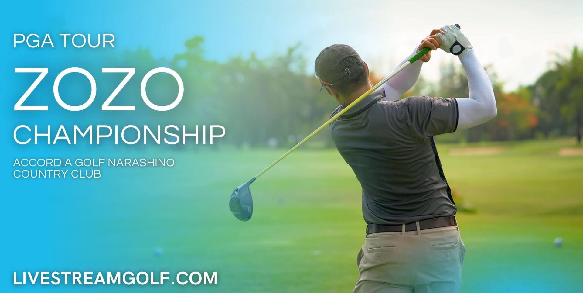 ZOZO Championship PGA Live Stream