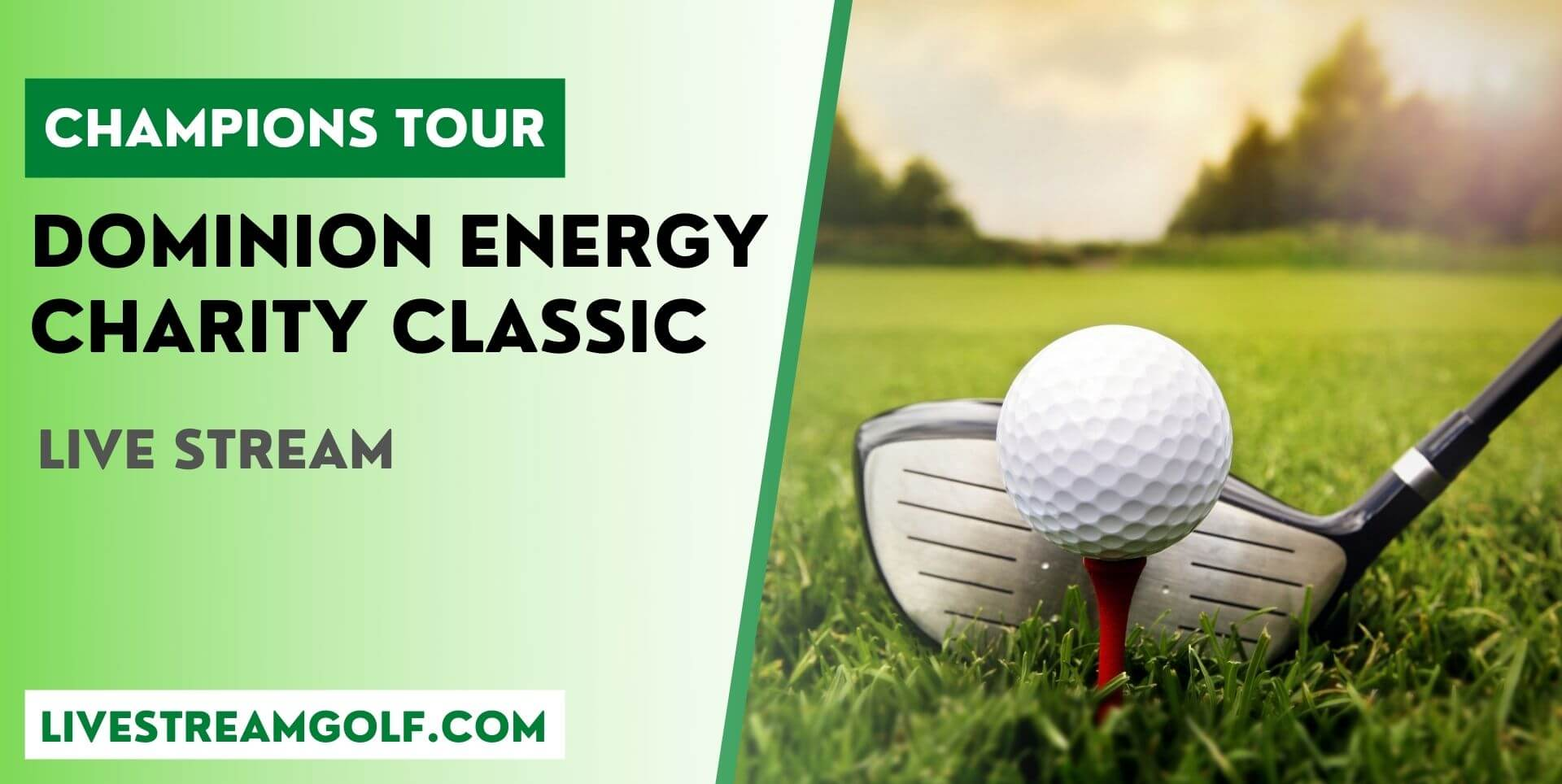 Dominion Energy Charity Classic Rd 1 Live Stream: Champions 2021